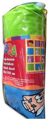 Dora Explorer hoeslaken Liane