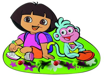 Dora Explorer kapstok