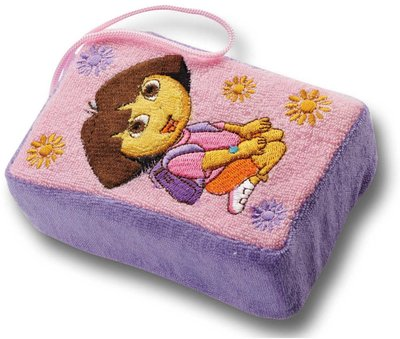 Dora Explorer bad of douche spons