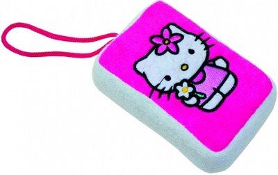 Hello Kitty bad en douche spons