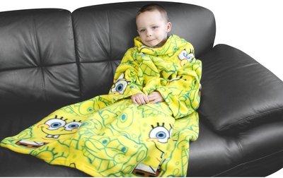 Spongebob fleece poncho