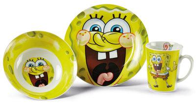 Spongebob dinnerset porselein