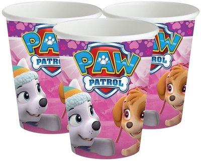 Paw Patrol party bekers Skye en Everest