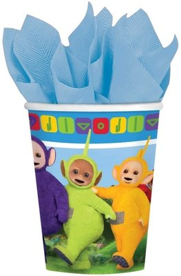 Teletubbies party bekers