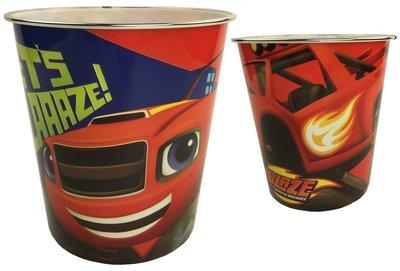 Blaze en de Monsterwielen kunststof Prullenbak Lets Blaaaze!