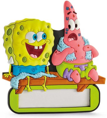 Spongebob naambordje