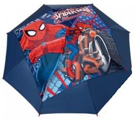 Spiderman paraplu Ultimate Tech blauw