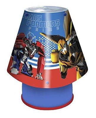 Transformers slaapkamer lamp