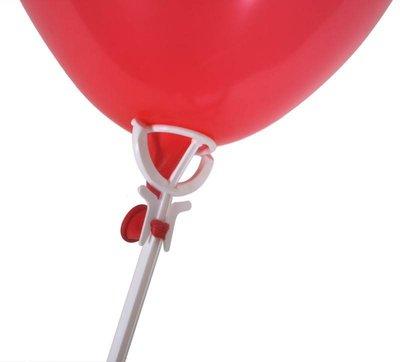 Ballonstokjes plastic geschikt voor alle ballonnen
