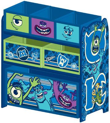 Monsters University speelgoed opbergrek