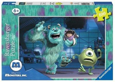Monsters University puzzel met 100 stukjes