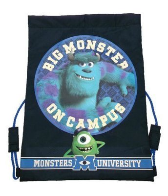 Monsters University gym of sporttas