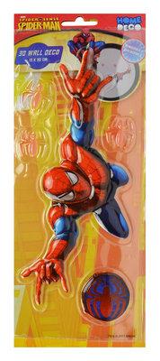 Spiderman 3D muur decoratie muursticker set