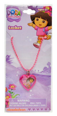 Dora Explorer medaillon ketting
