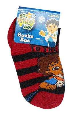 Diego sneaker sokken rood