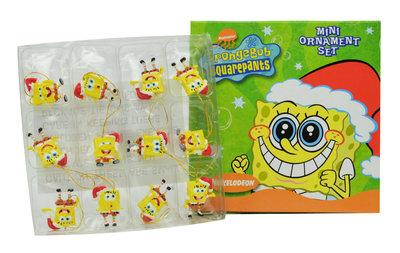 Spongebob kerst figuurtjes