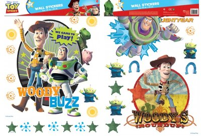Disney Toy Story XL wanddecoratie muurstickerset