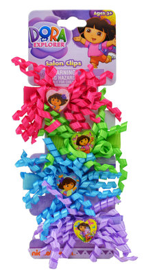Dora Explorer haarclips Summer