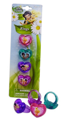 Disney Tinkerbell 4 delig ring set