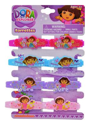 Dora Explorer set van 8 haarclips