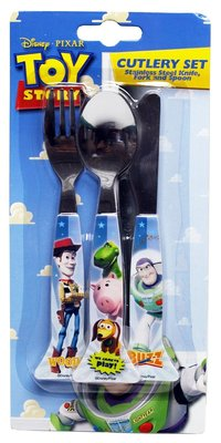 Disney Toy Story 3-delig bestek set