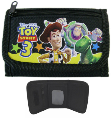 Disney Toy Story portemonnee met rits zwart