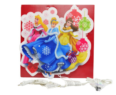 Disney Princess kerst raamverlichting