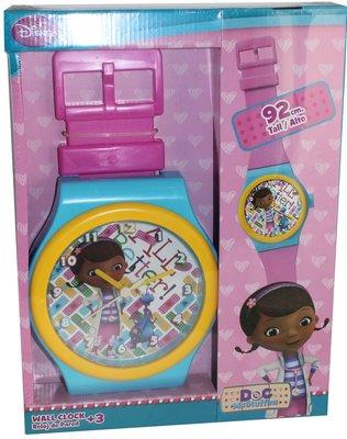 De Speelgoed Dokter horloge wandklok