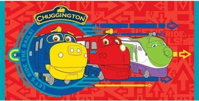 Chuggington badlaken of strandlaken
