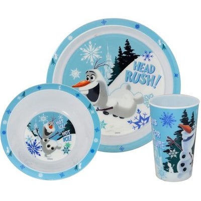 Disney Frozen Olaf dinner set
