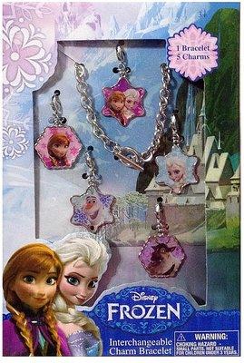 Disney Frozen metalen bedel armband
