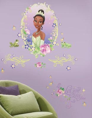 Disney Prinses en de kikker XL wanddecoratie