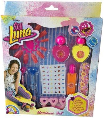 Soy Luna manicure nail art set