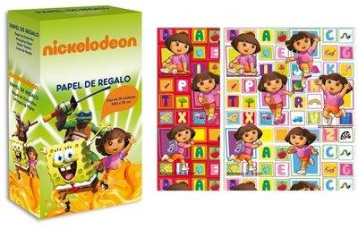 Dora Explorer cadeau papier rol 70x200cm