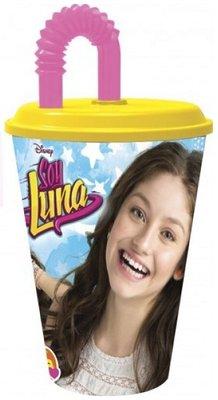 Soy Luna drinkbeker met rietje