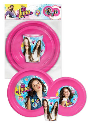 Soy Luna 3 delig camping dinner set