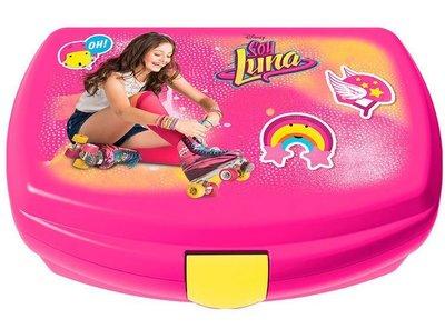 Soy Luna broodtrommel of lunchbox Enjoy