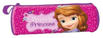 Sofia het Prinsesje school etui rond - Properly Princess