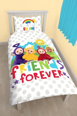 Teletubbies dekbedovertrek Friends Forever