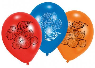 Blaze en de Monsterwielen ballonnen