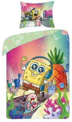 Spongebob dekbedovertrek Party Time