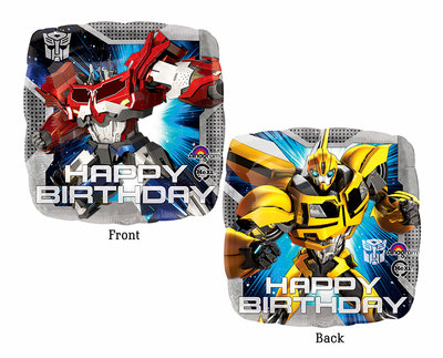Transformers Happy Birthday folie ballon