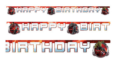 The Avengers Age of Ultron happy birthday slinger