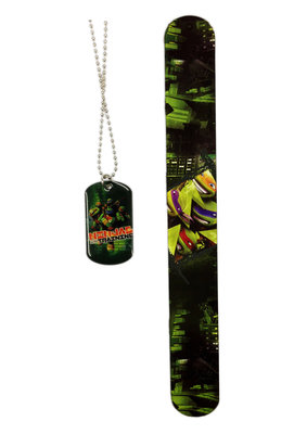 Teenage Mutant Ninja Turtles ketting met armband set