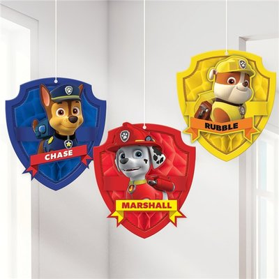 Paw Patrol honeycomb 3 delig set
