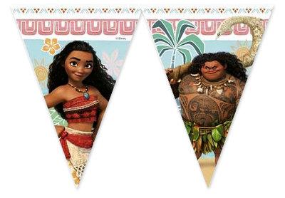 Disney Vaiana feestslinger vlaggenlijn