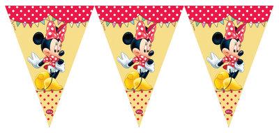 Disney Minnie Mouse feestslinger vlaggenlijn