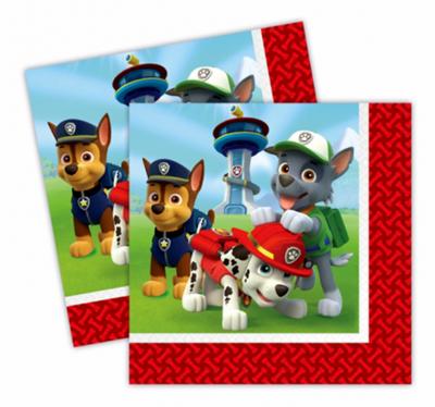Paw Patrol servetten