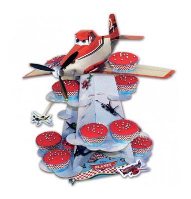 Disney Planes cupcake standaard