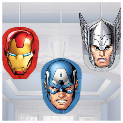 The Avengers plafond decoratie 3 delig
